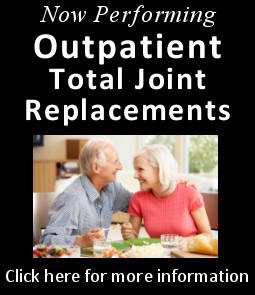 Dr. Timothy Murphy performs outpatient total joint replacements in Greensboro, NC
